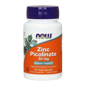 Zinc Picolinate 50mg  60 vcaps NOW Foods