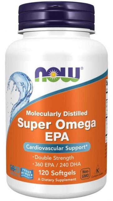 Super Omega EPA 1200mg 360/240  120 SGELS Now foods