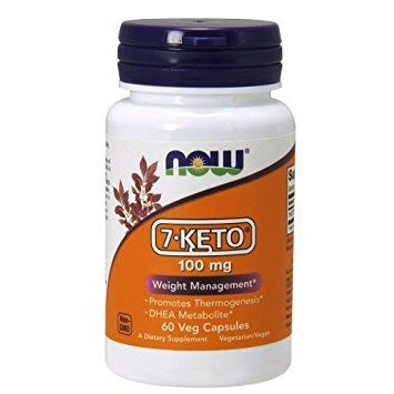 7 Keto 100mg 60vcaps NOW Foods