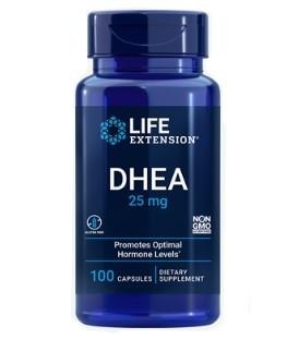 DHEA 25mg 100 caps LIFE Extension