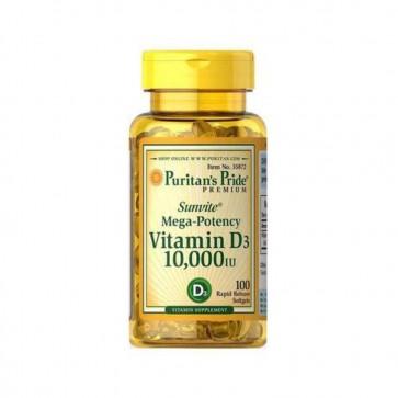Vitamina D3 10.000 IU 100s PURITAN