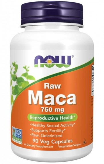 MACA 750 MG (6:1 CONC) 90 VCAPS Now foods