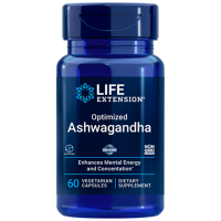 Ashwagandha Extract 60 vcaps LIFE Extension