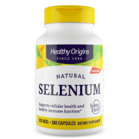 Seleno Excell Selenium 200mcg 180s HEALTHY Origins