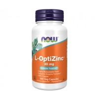 L Optizinc 30mg 100caps NOW Foods