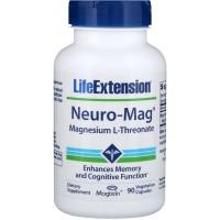 Neuro-Mag™ Magnesium L-Threonate. 90 vegetarian capsules LIFE Extension
