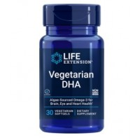 Vegetarian DHA 30 veg softgels LIFE Extension