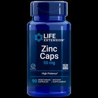 Zinc 50mg 90 veg caps LIFE Extension