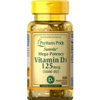 Vitamina D3 5.000 IU 100s PURITAN