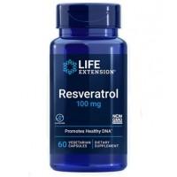 Resveratrol 100 mg. 60 vegetarian capsules LIFE Extension