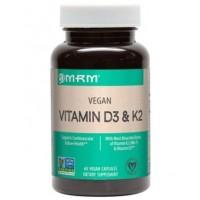 Vitamina D3 + k2 60 veg caps MRM