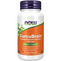 CurcuBrain 400mg Now foods