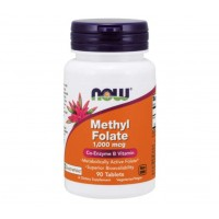 METHYL Folate 1.000mcg 90tablets NOW Foods