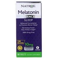 Melatonin Advanced Sleep 10mg Tab-60 NATROL