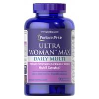 Ultra Women Multivitaminico 90 Caplets Puritans