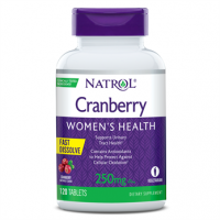 Cranberry Women's Health, 250mg, Cranberry Fast Dissolve Tablets, 120ct Natrol