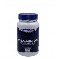 Vitamina D3 10,000 120s PLV - Proline Vitamins
