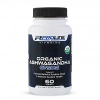ASHWAGANDHA 675mg Organic 60 tabs PLV