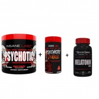 1 Psychotic RED + 1 Psychotic Diablo + 1 melatonina Insane 3mg